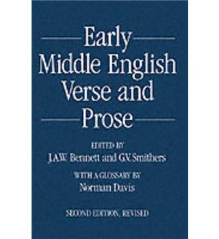 Early Middle English verse and prose