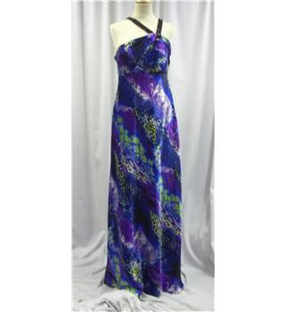 Hailey Logan - Size: One size: regular - Blue and Purple - Long dress