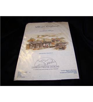 Derwentwater Designs Cumbrian Village counted cross stitch kit