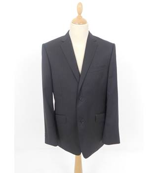 "Ted Baker Size: Medium, 40"" chest, tailored fit Dark Charcoal Smart/Stylish ""The Golden Ewe""  Wool Single Breasted Jacket."