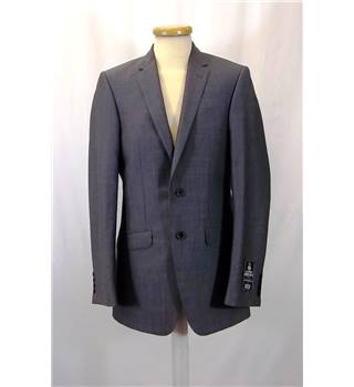 BNWT M&S Marks & Spencer - Size: S - Grey - Single breasted suit jacket