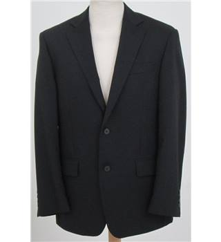 "M&S size: 38""S black single breasted suit jacket"