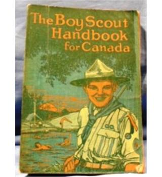 1926. Handbook for Canada of the Boy Scouts Association.