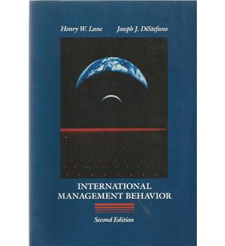 International Management Behaviour From Policy to Practice