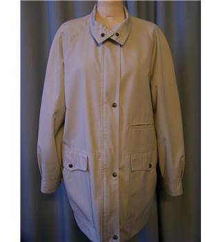 Dannimac - Size: 18 - Beige - Casual jacket / coat
