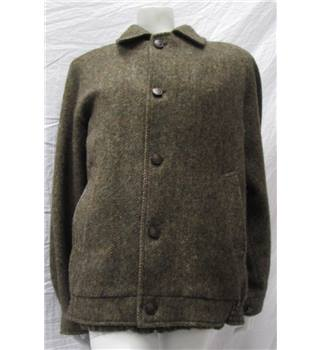 Burberry - Size L - Tonal  Brown - Tweed jacket Burberry - Size: L - Brown - Smart jacket / coat