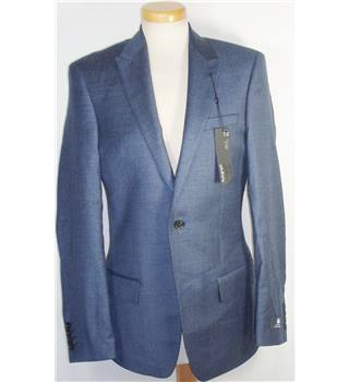 "BNWT M&S Autograph Blue 34""Chest Wool Jacket"
