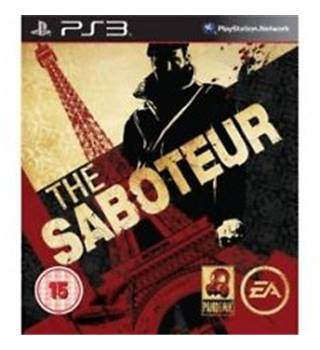 The Saboteur PS 3