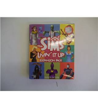 PC Games - the sims livin it up expansion pack