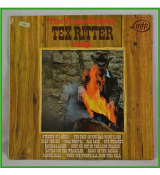 The Texas Cowboy Sings - Tex Ritter - 5245