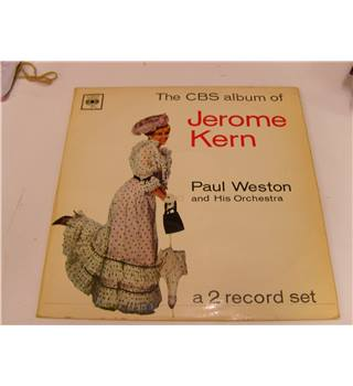The CBS Album of Jerome Kern Paul Weston and Orchestra 2 LP record set CBS GPG 66003 Paul Weston and his Orchestra - GPG 66003