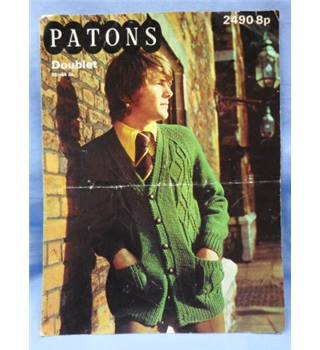 Patons 2490 Doublet  The Country Loving Jacket