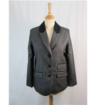 H&M grey smart jacket size 8