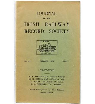 Journal of the Irish Railway Record Society