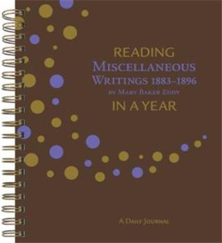 Reading Miscellaneous Writings 1883-1896 in a Year