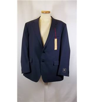 BNWT Marks and Spencer Collection - - Blue  48 Chest- Single breasted suit jacket