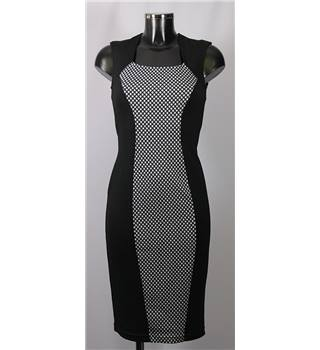 Atmosphere Dress - Black/White - Size 8 Atmosphere - Size: 8 - Multi-coloured