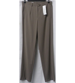 BNWT Faber size: 10 brown smart trousers