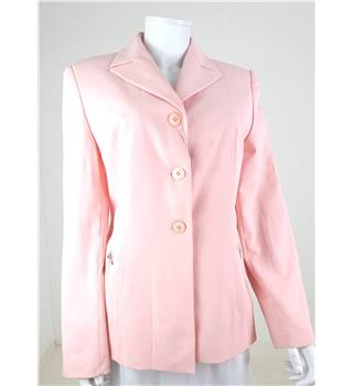 BNWT Nuove Visioni Size M Baby Pink Blazer