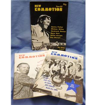 1980. 3 Copies New Kommotion Magazine Issues 23, 24 & 25