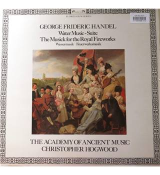 Handel Music for the Royal Fireworks/The Academy of Ancient Music/Hogwood.  L'Oiseau-Lyre DSLO 595