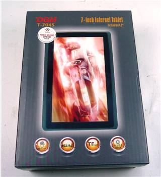 "DGM T-704s 7"" Internet tablet"