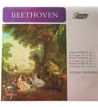 Beethoven Piano Sonata No. 7,9, 10.  Alfred Brendel, piano.  Turnabout TV34118DS Vol.8