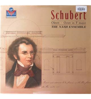 Schubert Octet in F major.  The Nash Ensemble.  Notes included.  Virgin Classics VC 790731-1
