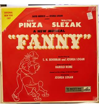 Fanny: A New Musical - Original New York Cast - CLP 1099 (Test Pressing)