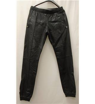 Oliver - Size: M - Black - Trousers - 100% Leather