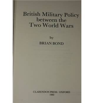 British military policy between the two World Wars
