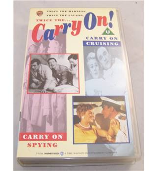 Twice the Carry On! Carry On Spying and Carry On Cruising U