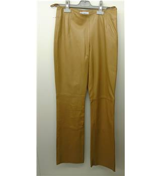 Mu Bah - Size: One size: regular size 8 - Brown - real leather Trousers