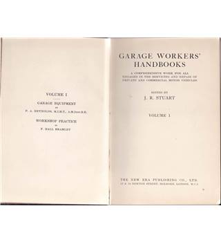 Garage Workers' Handbooks - 7 Volume set ca 1930s
