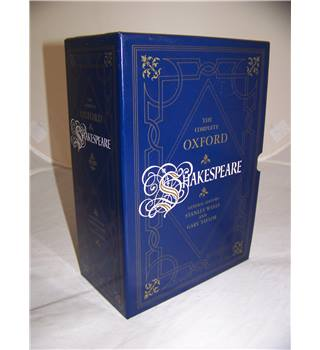 The Complete Oxford Shakespeare - 3 volume set