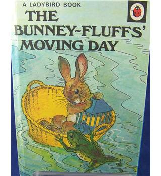 Ladybird Book  - The Bunney-Fluffs' Moving Day