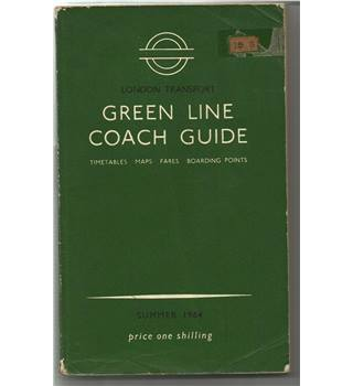 London Transport Green Line Coach Guide 1964