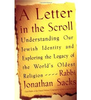 A letter in the scroll - Rabbi Jonathan Sacks