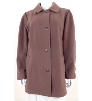 Unbranded Size: M Brown Casual Coat