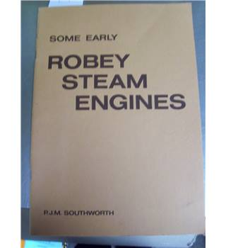 Some early Robey steam engines