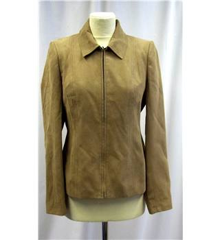 J. Taylor - Size: 10 - Brown - Faux suede - Jacket
