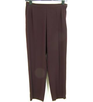 M&S Marks & Spencer - Size: 12M - Aubergine - Trousers