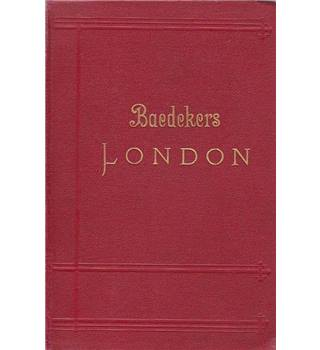 London und Umgebung - Baedeker - 16th Edition, 1909