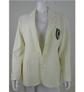 Cotswold Bowls Centre Size 16 Cream Smart Jacket