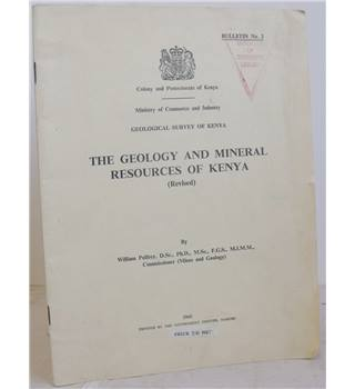 The Geology and Mineral Resources of Kenya (Revised)