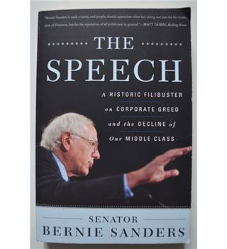 The Speech - Bernie Sanders - Signed