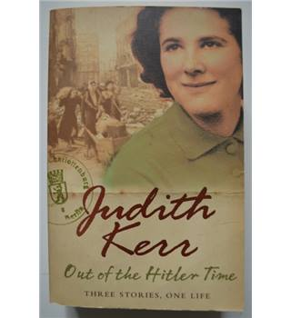 Out of The Hitler Time - Judith Kerr - Signed