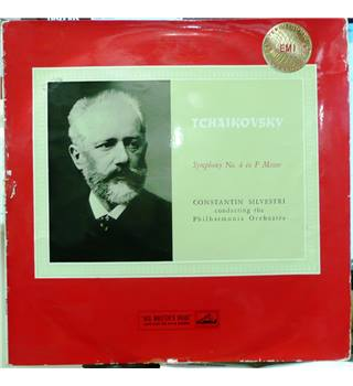 Symphony No. 4 In F Minor, Op.36 - Tchaikovsky- Philharmonia Orchestra/ Constantin Silvestri - ASD 253