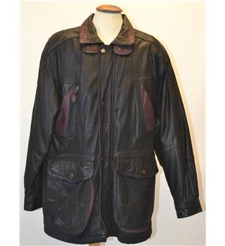 Peter Lukas - Size: XL - Black - Leather coat