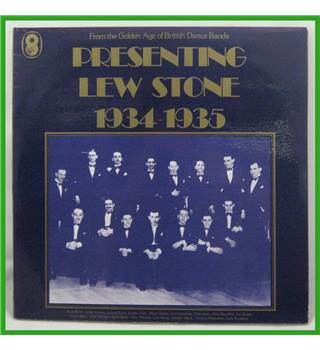Presenting Lew Stone 1934-1935 - Lew Stone And His Band - SH178